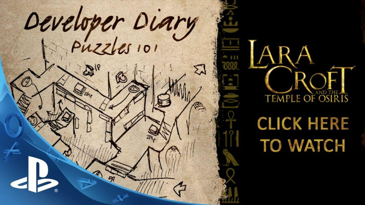 Lara Croft And The Temple Of Osiris Puzzles 101 Video