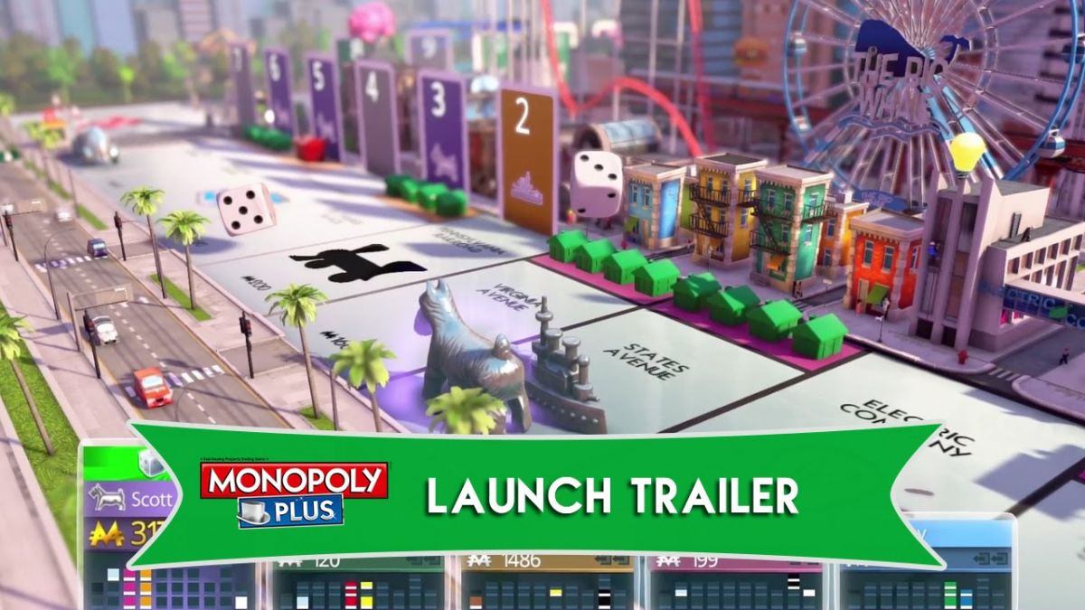 Monopoly Plus Launch Trailer For North America