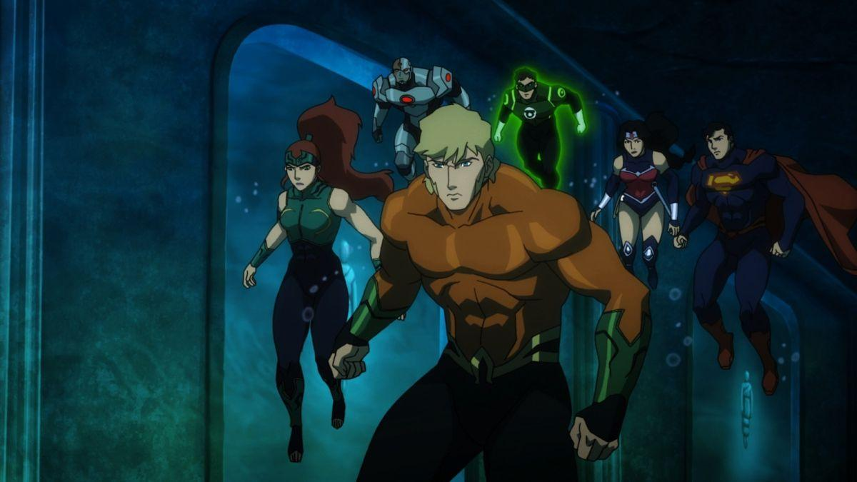 Justice League Throne of Atlantis