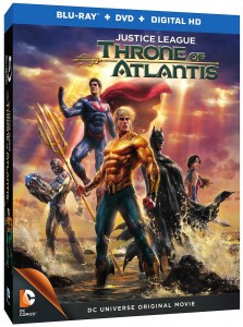 Justice League: Throne of Atlantis Box Art