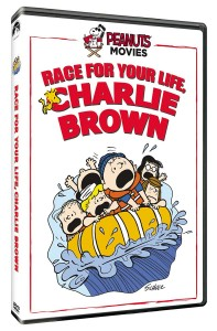 Race for Your Life Charlie Brown DVD Box Art