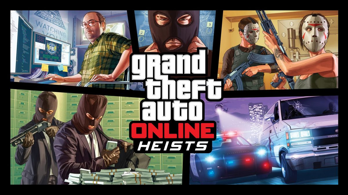 Grand Theft Auto Online Heists Trailer