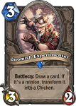 hearthstone goblins vs gnomes gnomish experimenter 107x150 - Hearthstone Goblins vs. Gnomes Expansion - Whose side are you on? (Gnomes)