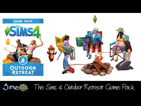 The Sims 4 Outdoor Retreat Pack Trailer