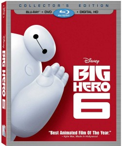Big Hero 6 Blu-ray Combo Pack Box Art