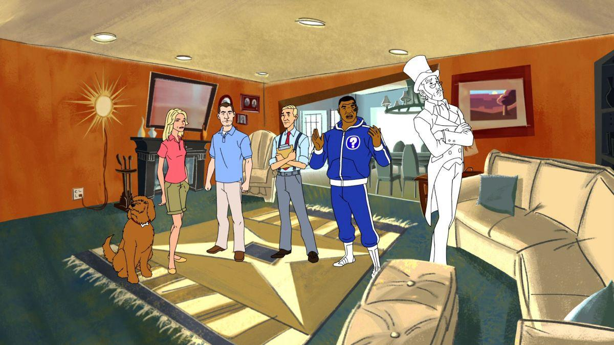 Mike Tyson Mysteries Haunted House