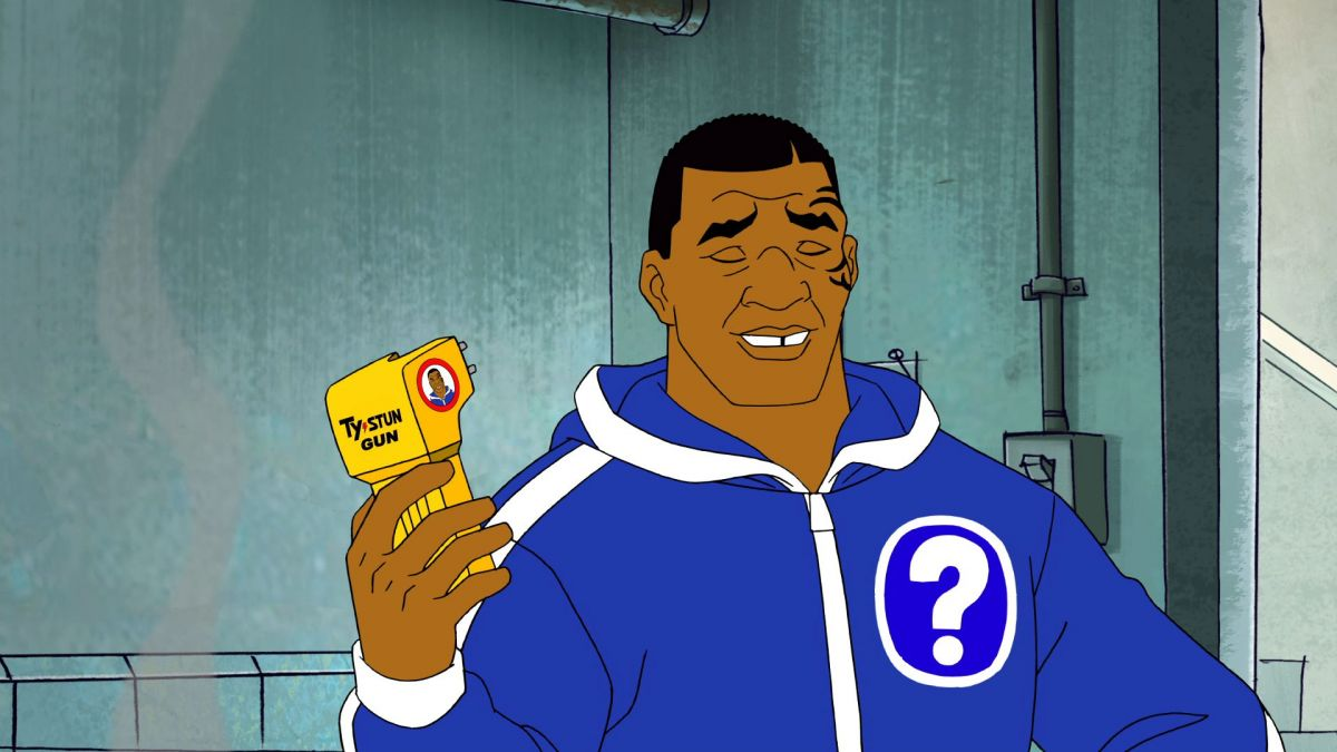 Mike Tyson Mysteries Ty-Stunned