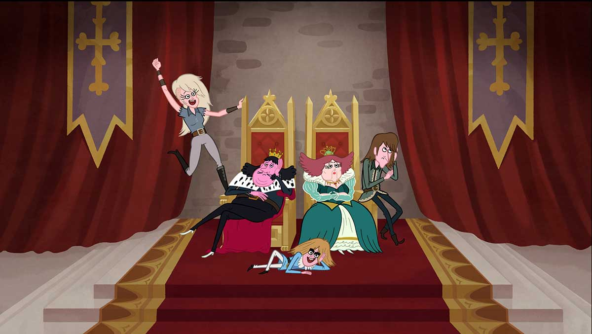 Long Live the Royals Cartoon Network Upfront 2015
