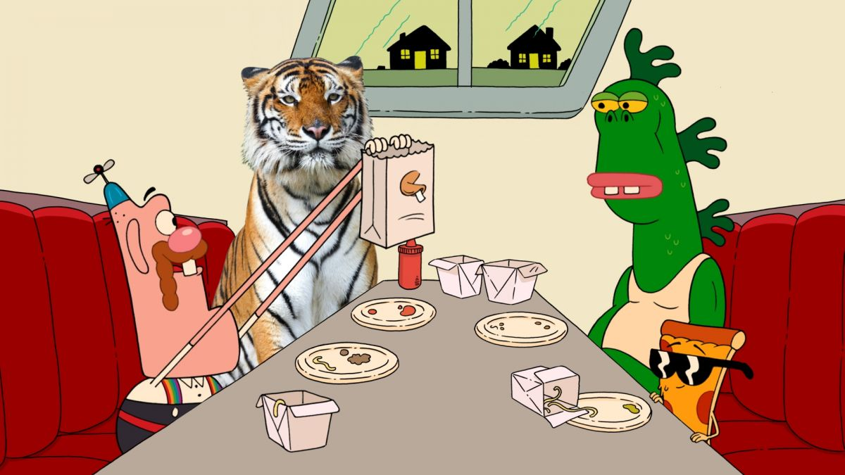 Uncle Grandpa MIsfortune Cookie