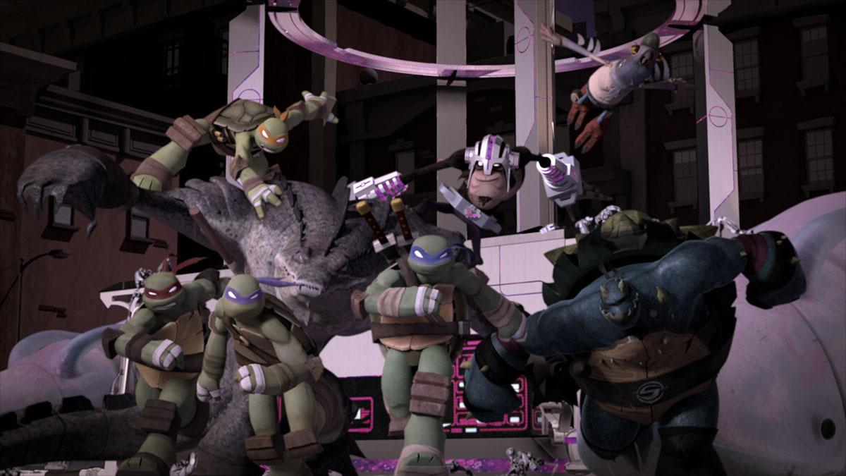 Teenage Mutant Ninja Turtles Battle for New York