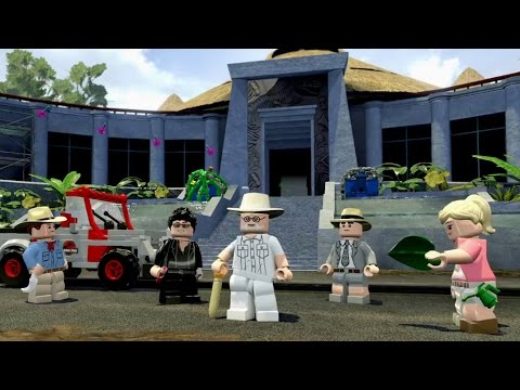 LEGO Jurassic World Video Game Gameplay Trailer
