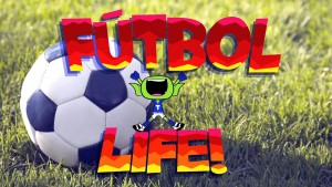 Teen Titans Go Kicking a Ball and Pretending to be Hurt