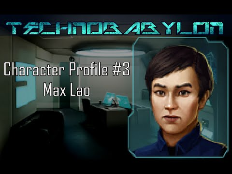 Max Lao Comes To Technobabylon