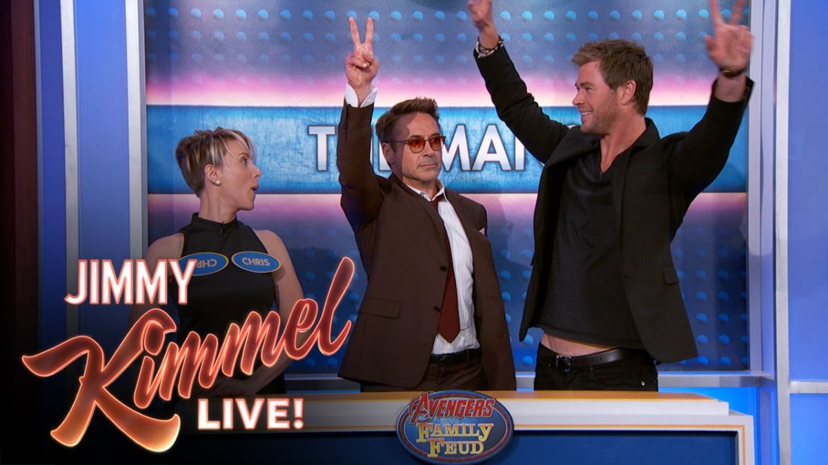 The Avengers: Age Of Ultron Cast Plays Family Feud