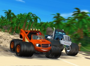 Blaze and the Monster Machines Dragon Island Duel