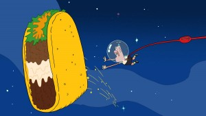 Uncle Grandpa Taco Comet