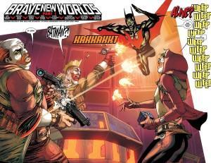 Batman Beyond #1 Pages 2-3