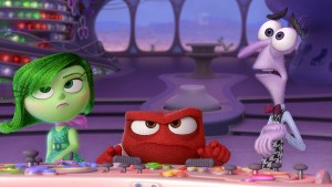 Inside Out Disgust Anger and Fear