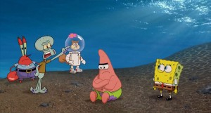 The SpongeBob Movie: Sponge Out of Water Hand-Drawn