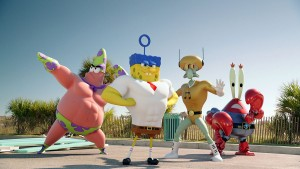 The SpongeBob Movie: Sponge Out of Water SpongeBob Superheroes