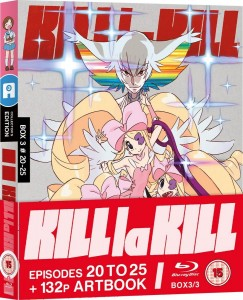 Kill La Kill Blu-ray Cover (UK Edition)