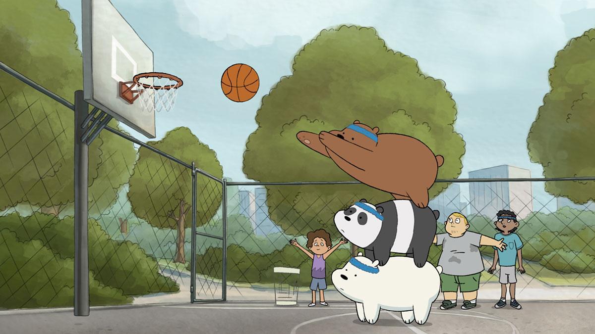 Review We Bare Bears Cartoon Network Uk Premiere A Honey Of A Show Anime Superhero News