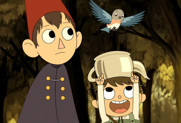 Review Over The Moon For The Over The Garden Wall Dvd Anime