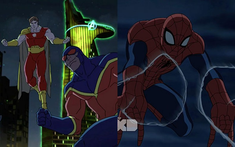 """CLIP: New Episodes of """"Avengers Assemble"""" and """"Ultimate Spider Man ..."""