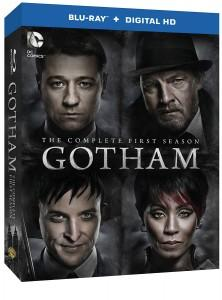 Gotham Season 1 Blu-ray Box Art