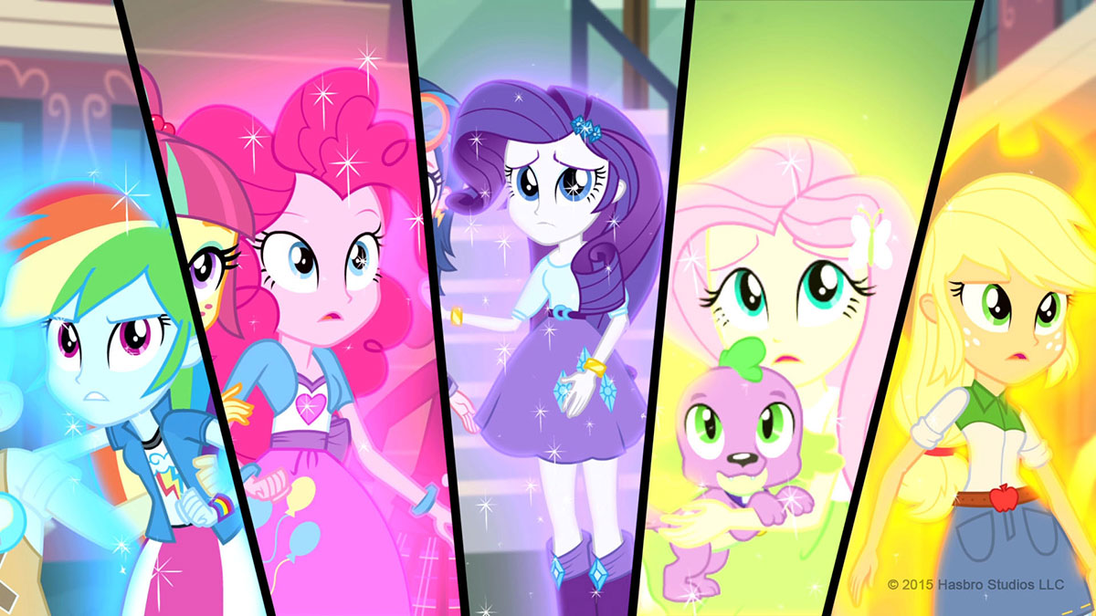 "My Little Pony: Equestria Girls"" Three Movie Set Coming October 13 ..."