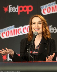 NYCC 2015 Felicia Day