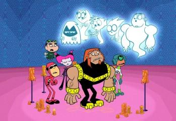 Teen Titans Go Scary Figure Dance