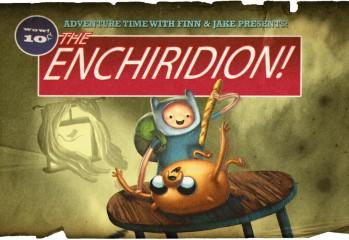 Adventure Time The Enchiridion Title Card