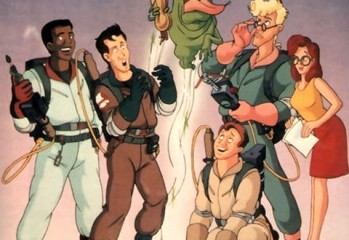 animated ghostbusters