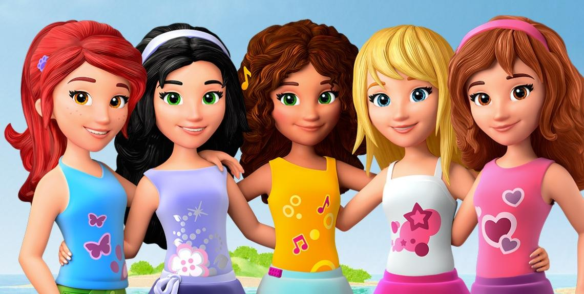 lego friends girlz 4 life coming to combo pack dvd and digital hd on february 2 2015. Black Bedroom Furniture Sets. Home Design Ideas