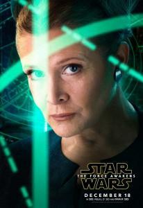 Star Wars: The Force Awakens Carrie Fisher Leia