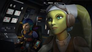 Vanessa Marshall Star Wars Rebels Legends of the Lasat