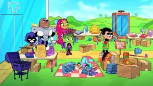 Teen Titans Go Garage Sale