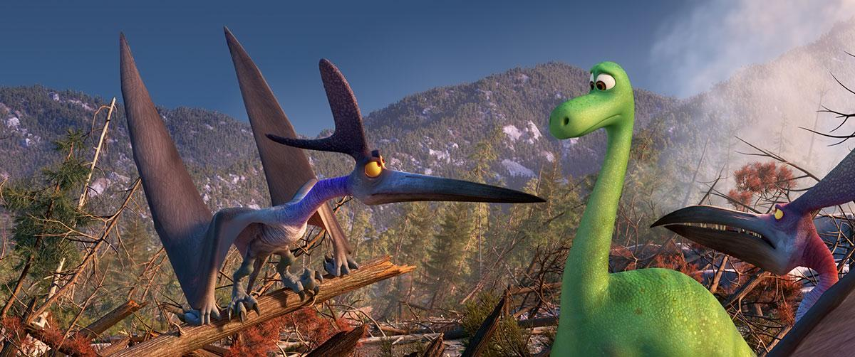 The Good Dinosaur Producer Denise Ream On Voice Cast Collider Characters Pixar Wiki Fandom Powered