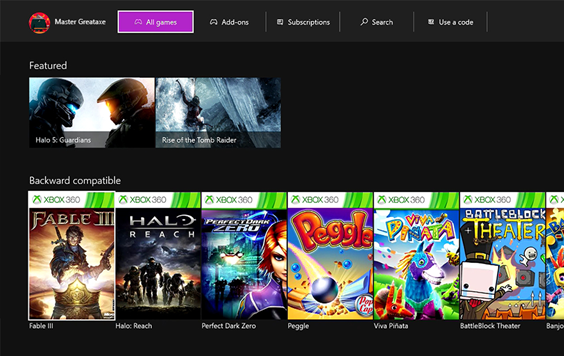 Microsoft Corporation (MSFT) Leaks: Games With Gold; Backwards Compatibility