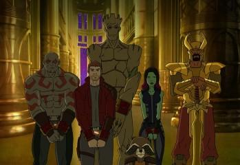 Guardians of the Galaxy We Are the World Tree
