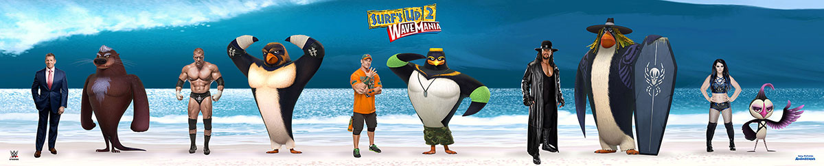 sony pictures animation and wwe studios team up for quotsurf
