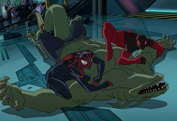 Ultimate Spider-Man Lizards