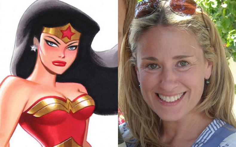Susan Eisenberg Wonder Woman