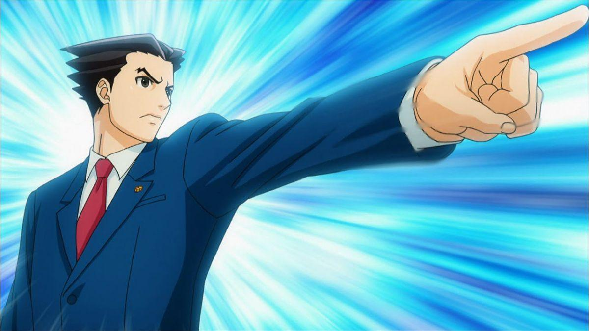no objections here ace attorney anime begins streaming tomorrow