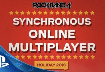 Rock Band 4 Reveals Synchronous Online Multiplayer In 2016