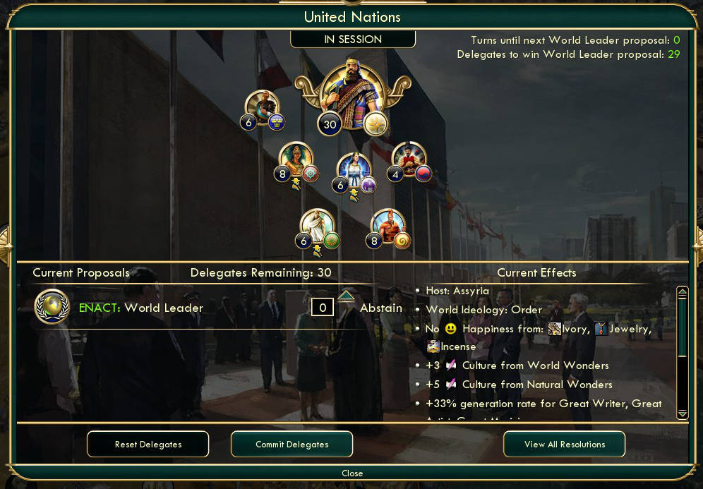 New Diplomacy Interface And Upgrades Coming To Civilization