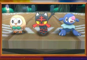 Meet Your Pokemon Sun And Moon Starters: Owl, Fire-Cat And Blue Seal