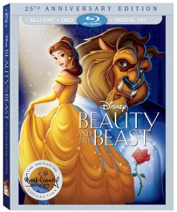 Beauty and the Beast 25th Anniversary Blu-ray