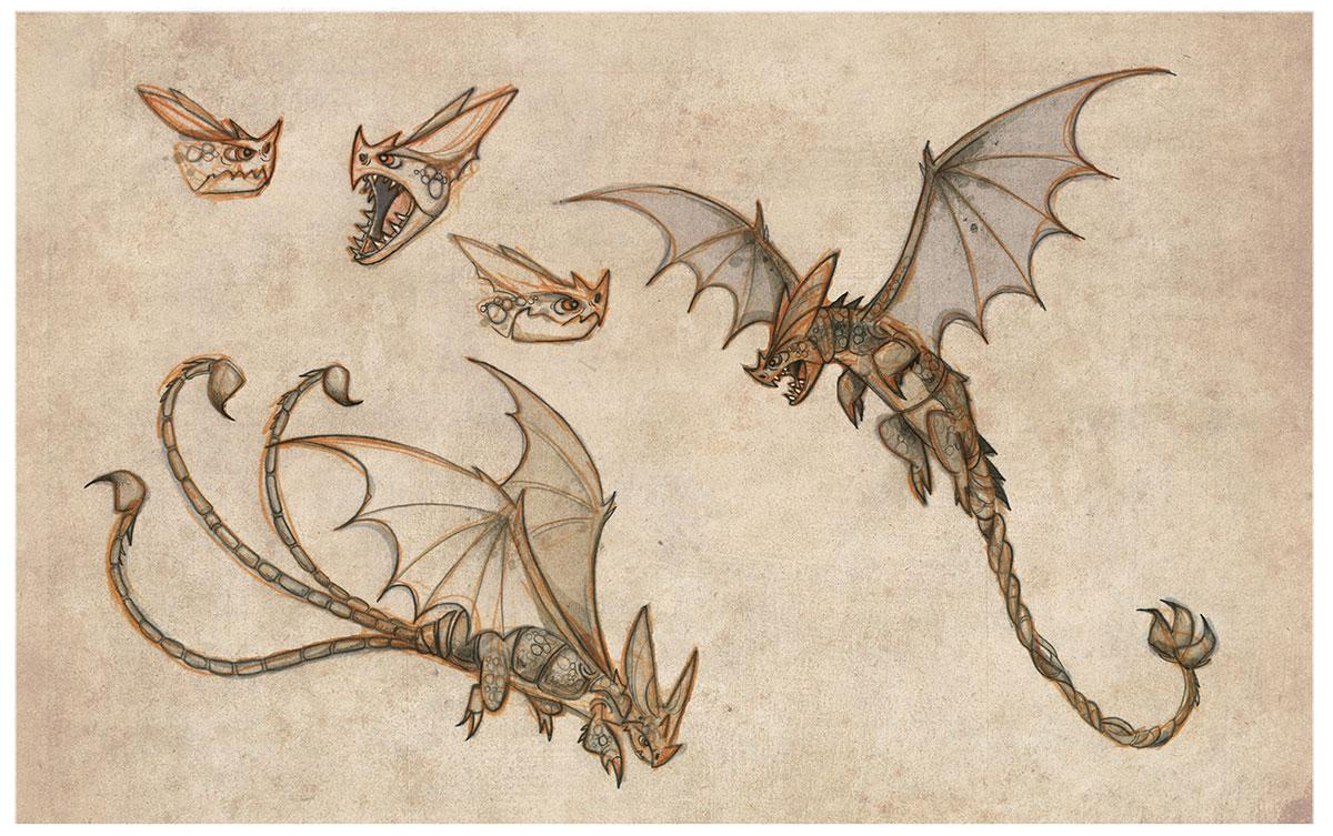 Dragons: Gift of the Night Fury & Book of Dragons Blu-ray ... |Dreamworks Dragons Species